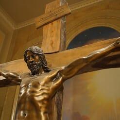 Crucifixion Bronze Sculpture-1