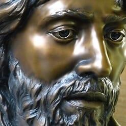 Crucifixion Bronze Sculpture-2