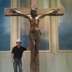 Crucifixion Bronze Sculpture