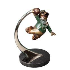 Duck Mascot Bronze Sculpture - Slam Duck