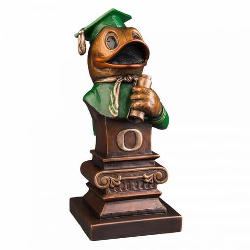 Duck Mascot Bronze Sculpture - Take Flight
