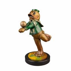 Duck Mascot Bronze Sculpture