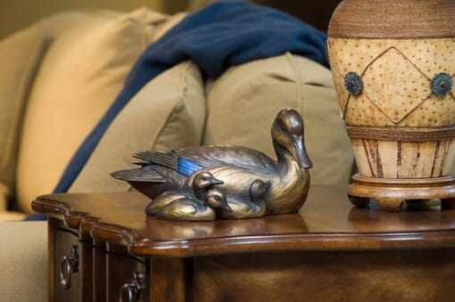 Duckling Bronze Sculpture - Best Friends-1