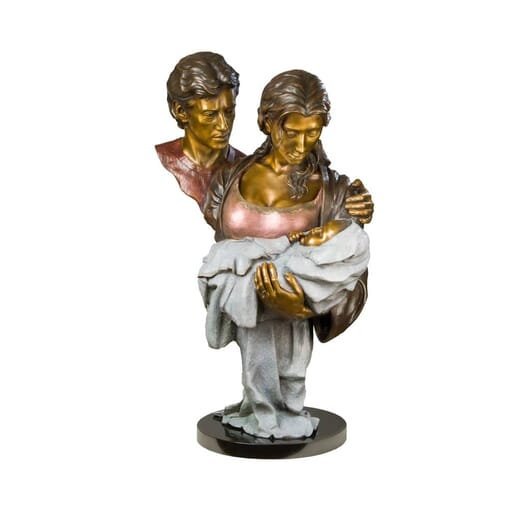 Family Portrait Bronze Sculpture-1