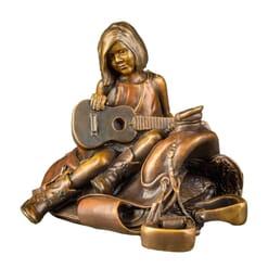 Girl Bronze Sculpture - Nashville Dreams