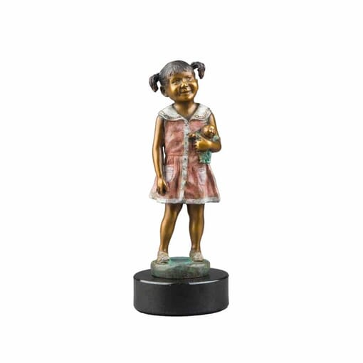 Girl Bronze Sculpture-mini