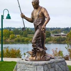 Governor Tom McCall Bronze Sculpture-1