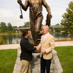 Governor Tom McCall Bronze Sculpture-2