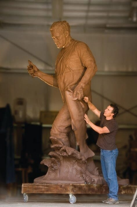 Governor Tom McCall Bronze Sculpture-3