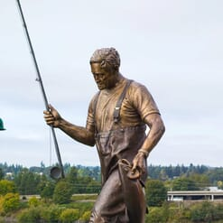 Governor Tom McCall Bronze Sculpture