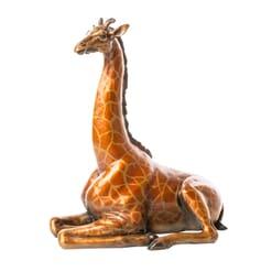 National Geographic - Bronze Giraffe Sculpture