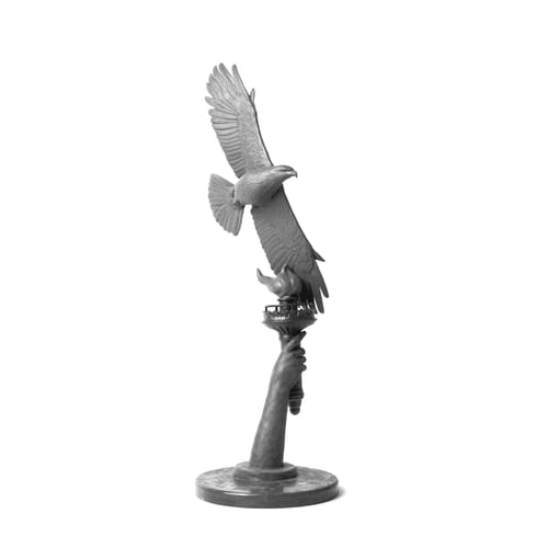 National Geographic - Bronze Liberty Eagle Sculpture
