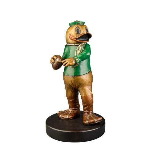 OR Duck Mascot Bronze Sculpture