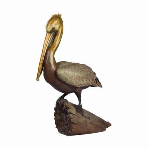 Seabird Bronze Sculpture - Ancient Mariner