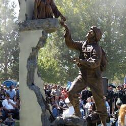 Tommy Tucker Bronze Monument-1