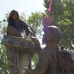 Tommy Tucker Bronze Monument-3