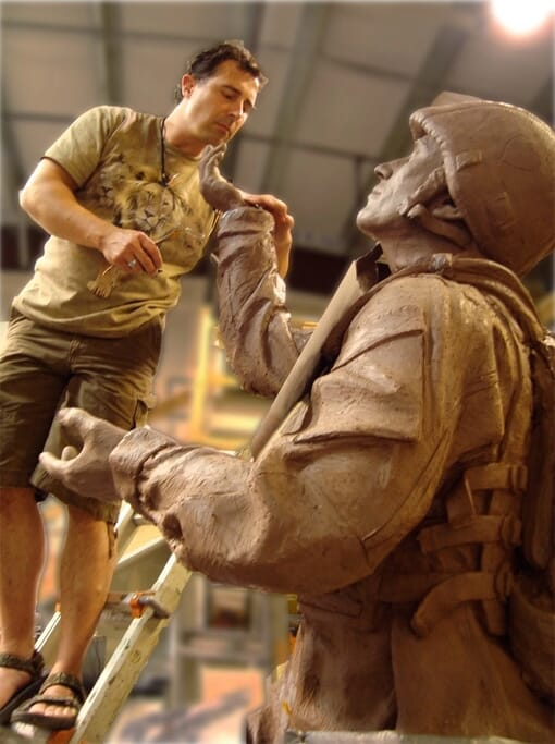 Tommy Tucker Bronze Monument-7