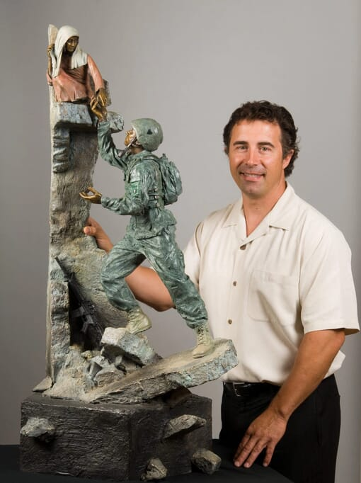 Tommy Tucker Bronze Monument-8