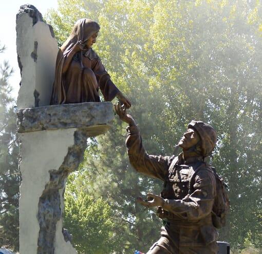 Tommy Tucker Bronze Monument