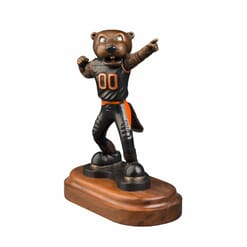 University Mascot Bronze Sculpture - Benny Beaver-3