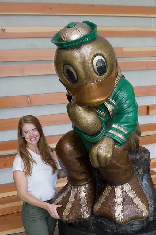 University Mascot Bronze Sculpture